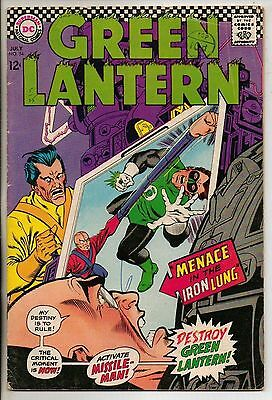 DC Comics Green Lantern #54 July 1967 VG