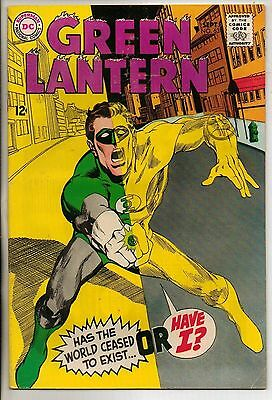 DC Comics Green Lantern #63 September 1968 VF