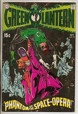 DC Comics Green Lantern #72 October 1969 F