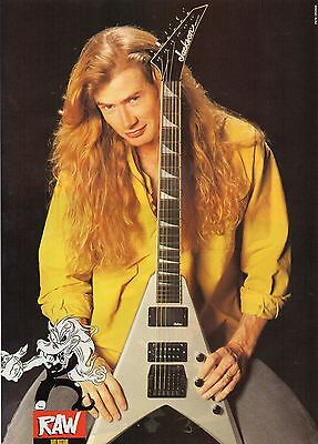 Dave Mustaine  Megadeth       Mini Poster  ( MB 79)