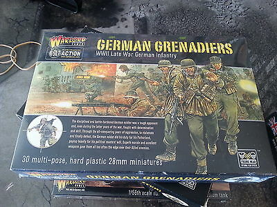Warlord Games Bolt Action / Konflikt 47 German Grenadiers - New And Sealed