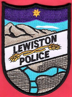 Lewiston Idaho Police Patch