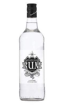 Captain Silver White Rum (1 Litre)