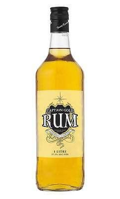 Captain Gold Dark Rum (1 Litre)