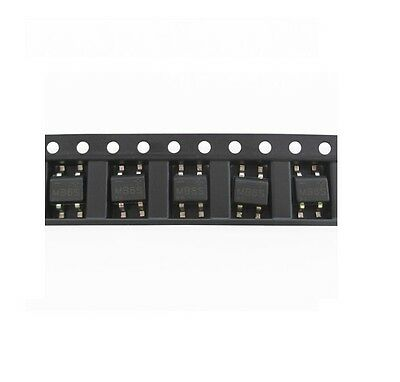 100Pcs IC MB6S 0.5A 600V Miniature Mini SMD Bridge Rectifier CK