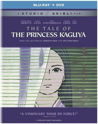 The Tale of the Princess Kaguya [New Blu-ray] Slipsleeve Packaging, Snap Case
