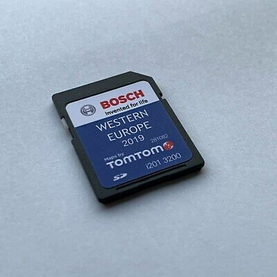 TeleAtlas TravelPilot FX Western Europe 2017 V9 SD card