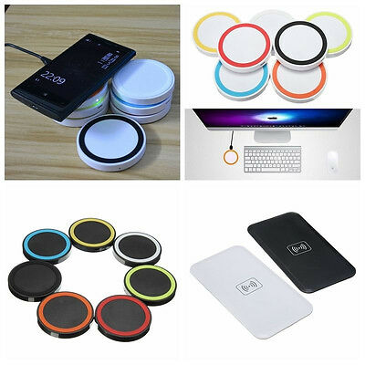 Genuine QI Wireless Charging Charger Pad Mat For Samsung Galaxy S7 Edge LG HTC