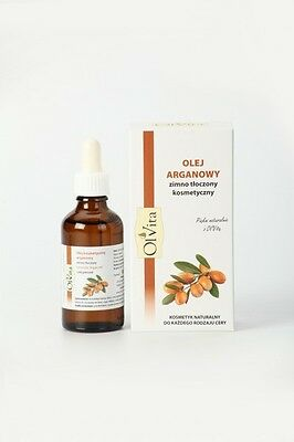 Cosmetic Argan Oil Cold Pressed Olejek Arganowy Ol'Vita 50ml.