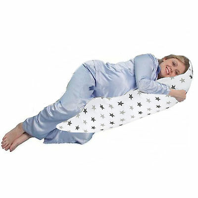 4Baby Silver Twinkle 5 Ft Body & Baby Sleep Support Pillow Maternity Cushion