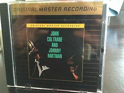 MFSL UDCD 740 John Coltrane and Johnny Hartman - Same Mint -