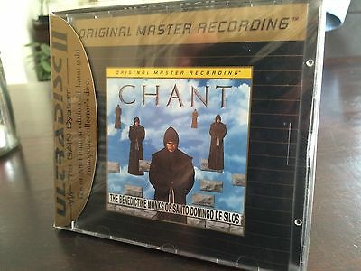 MFSL UDCD 725 Benedictine Monks of Santo Domingo de Silos - Chant - MINT - Jcard