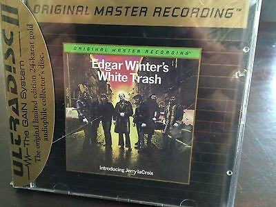 MFSL UDCD 715 Edgar Winter - Edgar Winter's White Trash MINT - with J-Card