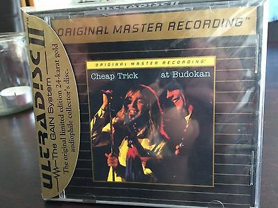 MFSL UDCD 709 Cheap Trick - Live at Budokan MINT - with J-Card