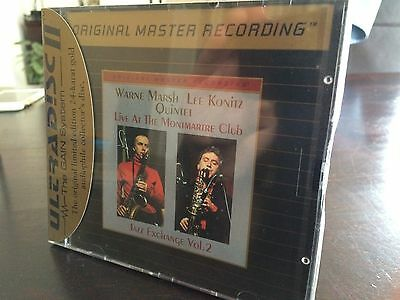 MFSL UDCD 707 Wayne Marsh & The Lee Konitz Quartet - Live at the Montmartre