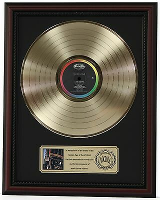 """Beastie Boys Pauls Boutique Gold Lp Record Framed Cherrywood Display """"k1"""""""