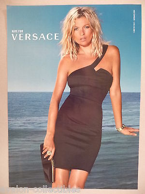 Kate Moss for Versace PRINT AD - 2009