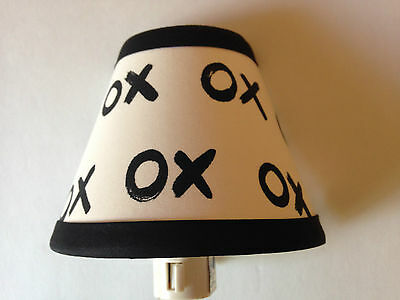 Emily & Merritt XOXO Fabric Nursery Night Light M2M Pottery Barn Kid Bedding