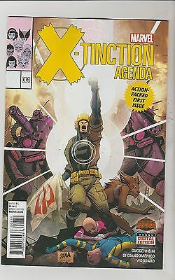 Marvel Comics X-Tinction Agenda #1 August 2015 1St Print Nm