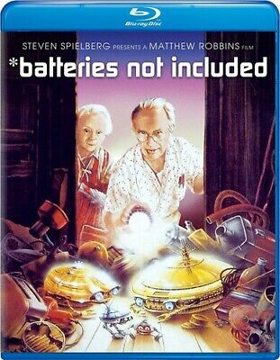 *Batteries Not Included [New Blu-ray] Snap Case