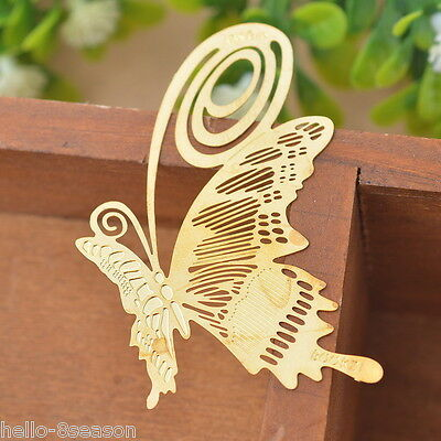 1PC Bookmarks Butterfly Chic Reading Gift Office Supplies Exquisite Art Craft