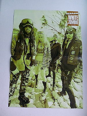 White Zombie  Dimebag Darrell  Scott Ian       Double Sided    Poster    ( LMB3)