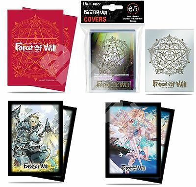 Ultra Pro FORCE OF WILL 65 DECK PROTECTOR SLEEVES BUSTINE (COVERS + PROMO) FOW