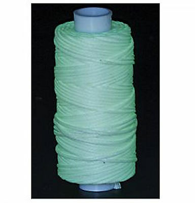 Waxed Braided Cord 25 yds. Glow in the Dark 11210-40