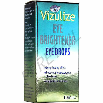 EYE BRIGHTNENING DROPS -LONG LASTING EFFECT- Whitening Red / Redness Vision Care