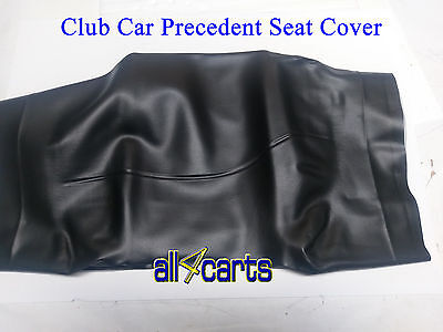 Club Car Precedent Seat Back Cover| Black Covers | Golf Cart 2004 Up