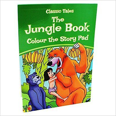 the Jungle Book Colour the Story Pad