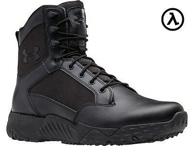 "Under Armour Ua Stellar Tactical 8"" Boots 1268951 / Black (001) - All Sizes"