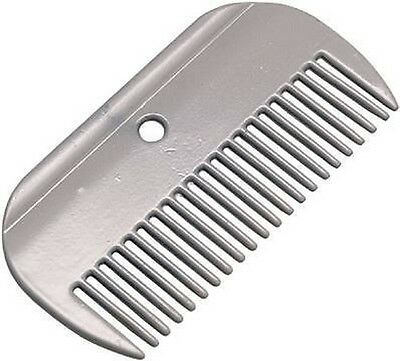 Large Aluminium Comb Horse Equestrian Grooming Tidying Cleaning Stable Yard