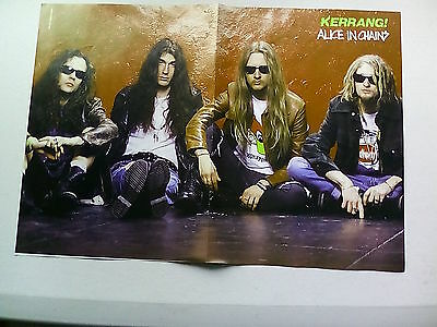 Alice In Chains     LA Guns      Double Sided Poster( LMB40)
