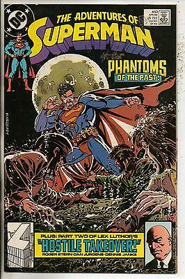 DC Comics Adventures Of Superman #453 April 1989 NM-
