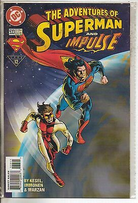 DC Comics Adventures Of Superman #533 March 1996 Impulse NM