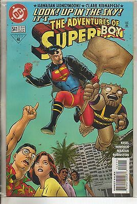 DC Comics Adventures Of Superman #541 December 1996 Superboy NM