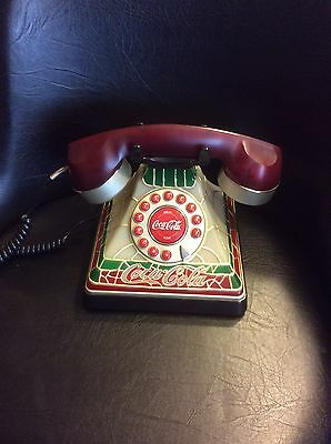 Stained Glass Look Telephone Great Condition