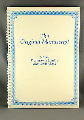 The Original Manuscript 50 pages 12 Stave - Brand New
