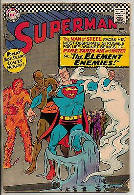 DC Comics Superman #190 October 1966 VG