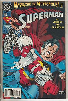 DC Comics Superman Vol 2 #92 August 1994 VF