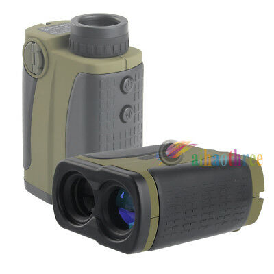 Professional 1000M Scope Laser Rangefinder Measuring Distance With Compass【AU】