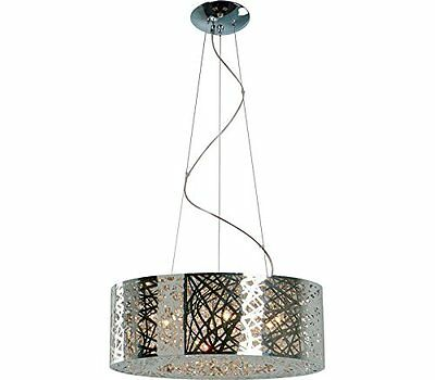Inca Light Single Pendant, 9 Light, 360 Total Watts Xenon, Bronze