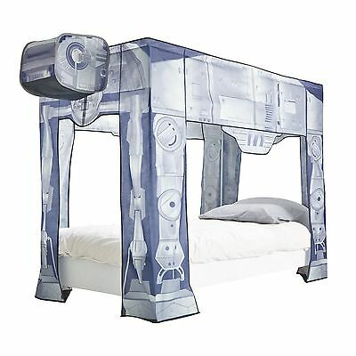 Star Wars At-At Single Bed Canopy New Official