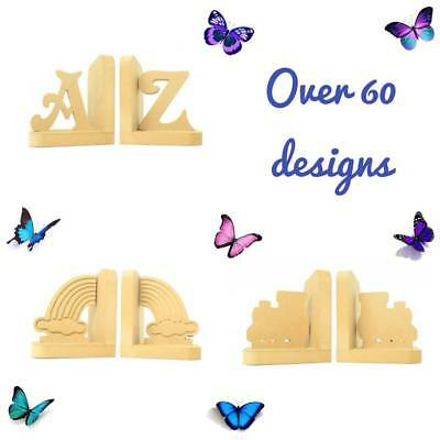 Decoration Book Ends Childrens Bedroom Boys Girls Nursery 60 DESIGNS 2 PICK FROM