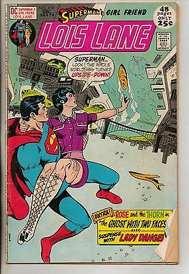 DC Comics Superman`s Girlfriend Lois Lane #117 December 1971 Giant Size VG