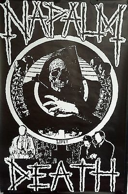 NAPALM DEATH  Giant Rare  Orig. Promo Poster 40 x 60  inch. FREE INT. SHIPPING