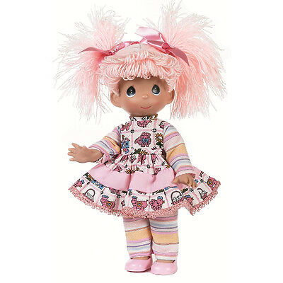 Precious Moments 9 Inch Doll, 'Rag A Doo - Pink', New with Tag, 3486