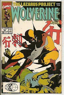 Marvel Comics Wolverine #28 Early August 1990 NM-