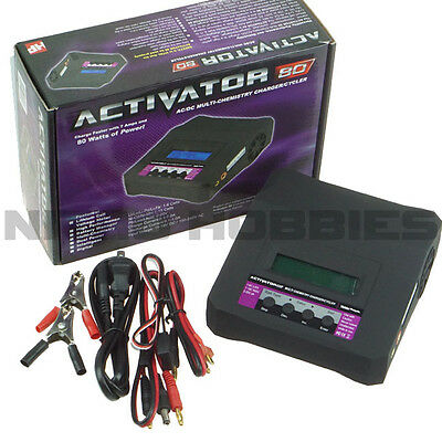 Hobby People Activator 80 AC/DC  LiPo / NiCd Charger 7A Multi-Chemistry Cycler